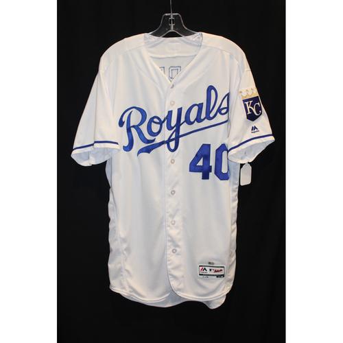 Game-Used Jersey: Kelvin Herrera (Size 46 - STL at KC - 8/7/17)