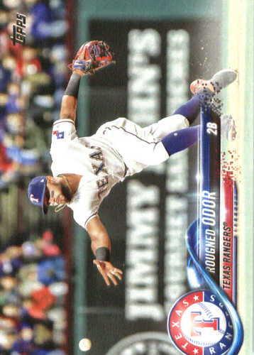 Photo of 2018 Topps #56 Rougned Odor