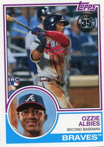 Photo of 2018 Topps '83 Rookies #8316 Ozzie Albies