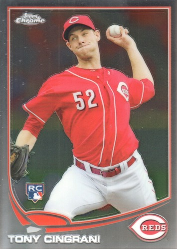 Photo of 2013 Topps Chrome #171 Tony Cingrani Rookie Card