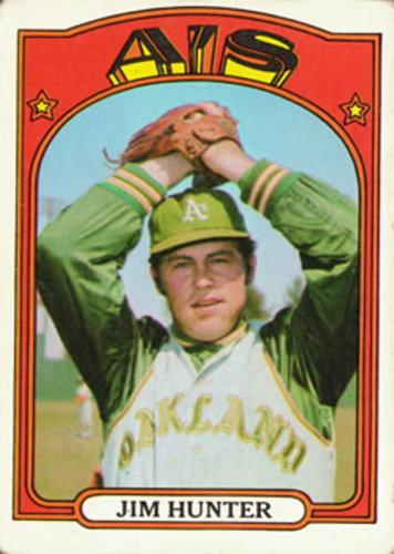 Photo of 1972 Topps #330 Jim Hunter