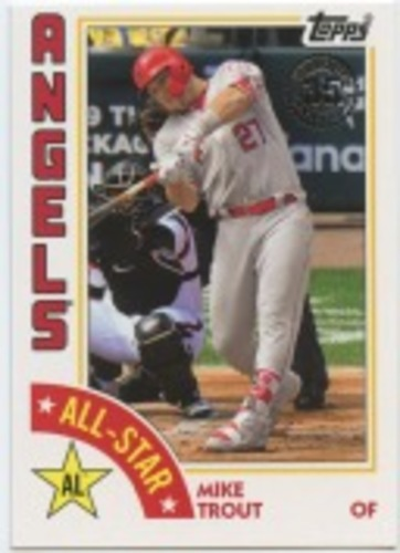 Photo of 2019 Topps '84 Topps All Stars #84ASMT Mike Trout