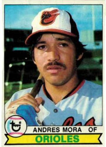 Photo of 1979 Topps #287 Andres Mora