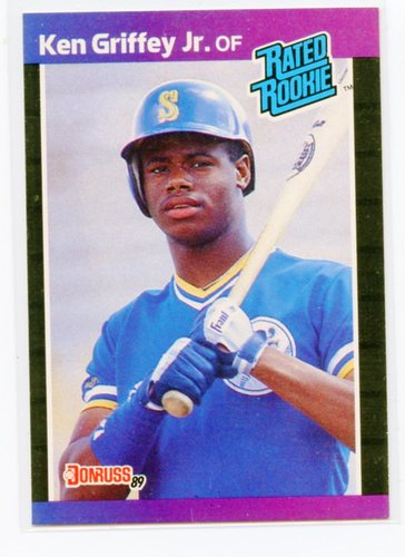 Photo of 1989 Donruss #33 Ken Griffey Jr. RR RC