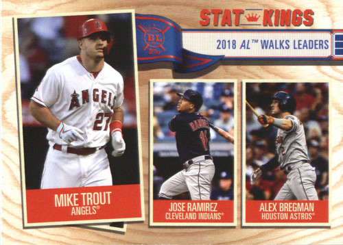 Photo of 2019 Topps Big League #355 Alex Bregman/Jose Ramirez/Mike Trout