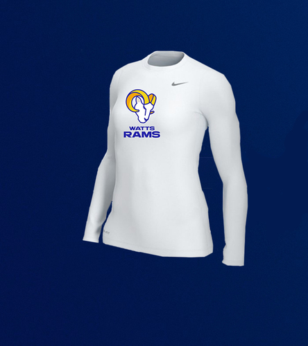 Photo of Women's Long-Sleeve Training Top - White