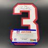 Bills - Aaron Williams Signed Jersey Number