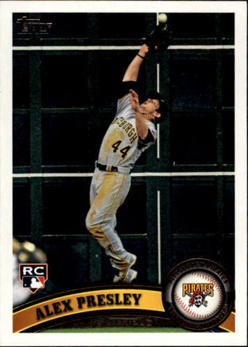 Photo of 2011 Topps Update #US148 Alex Presley RC