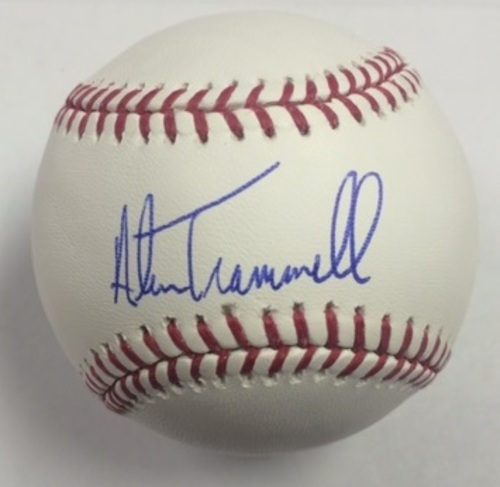 Photo of Alan Trammell Autographed Baseball