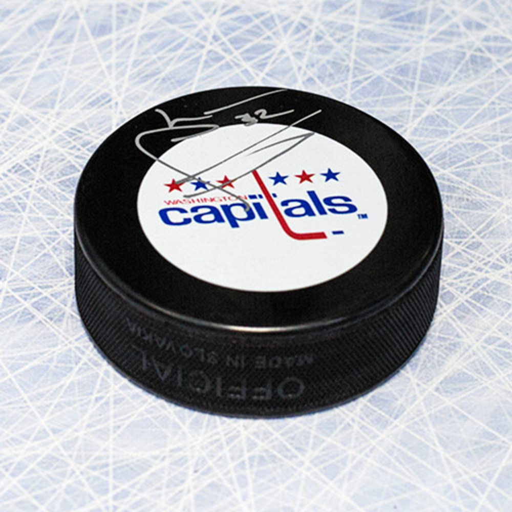Lou Franceschetti Washington Capitals Autographed Hockey Puck