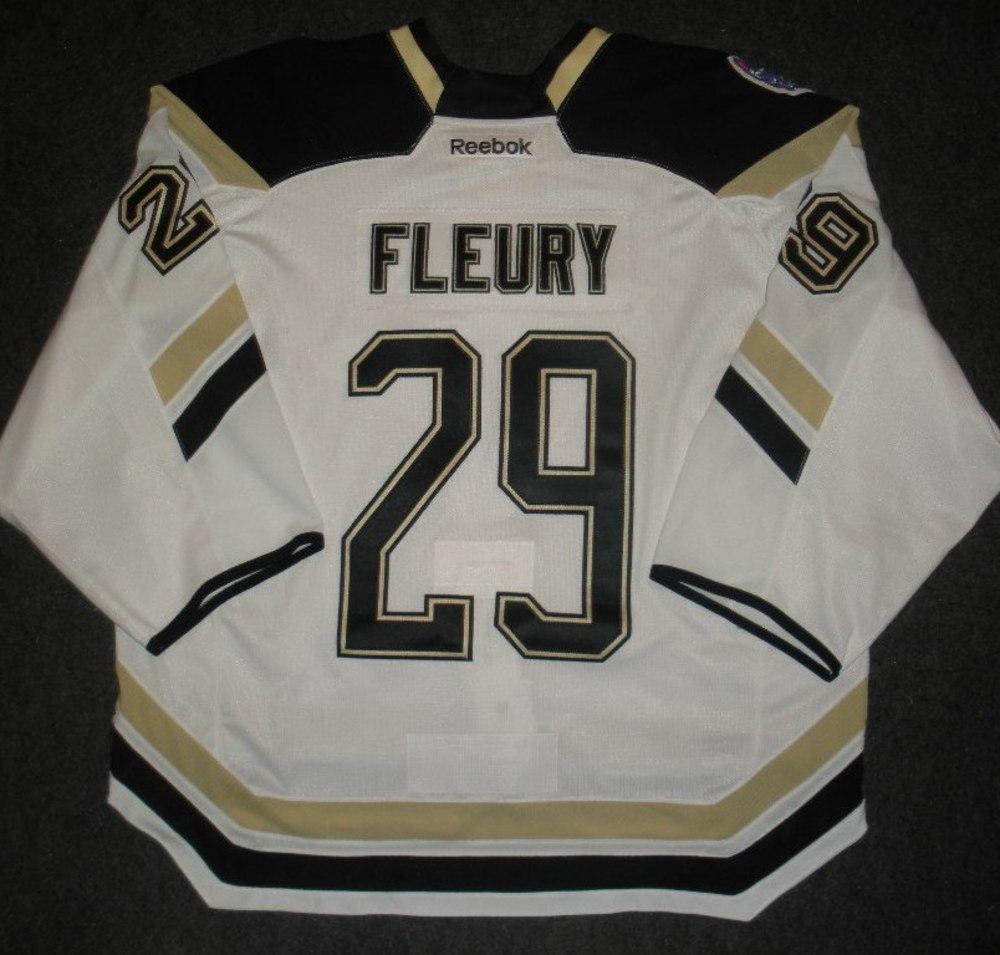 hot sale online 4fda6 1dda4 Marc-Andre Fleury - 2014 Stadium Series - Pittsburgh ...