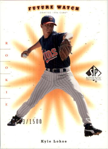 Photo of 2001 SP Authentic #230 Kyle Lohse FW RC