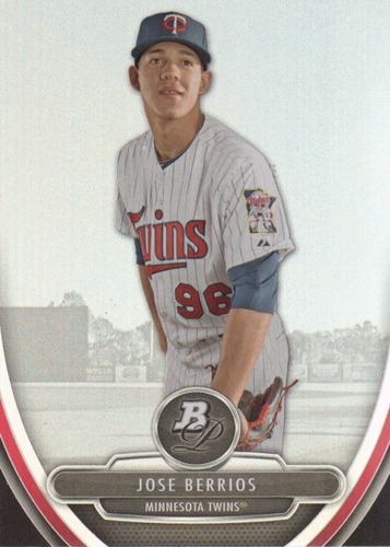 Photo of 2013 Bowman Platinum Prospects #BPP84 Jose Berrios