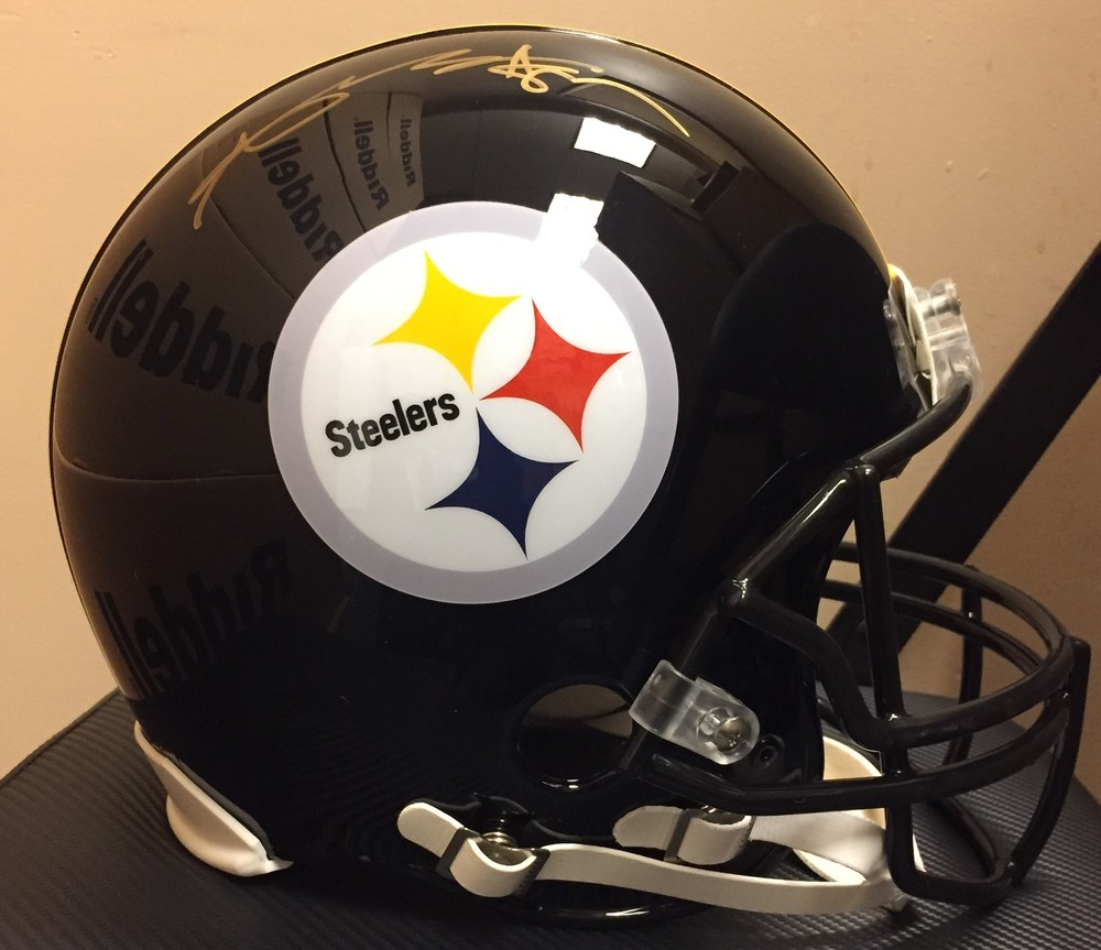 NFL - Steelers Antonio Brown SIGNED Pro line Helmet