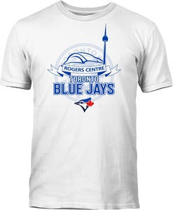Toronto Blue Jays Rogers Centre T-Shirt by Bulletin