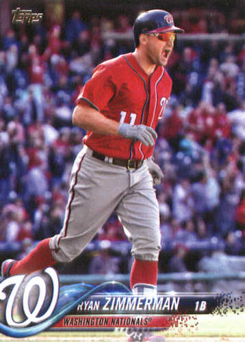 Photo of 2018 Topps #58 Ryan Zimmerman