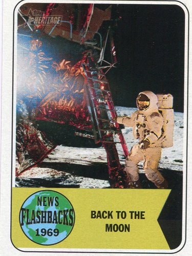 Photo of 2018 Topps Heritage News Flashbacks #NF8 Apollo 12