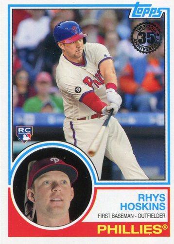 Photo of 2018 Topps '83 Rookies #8318 Rhys Hoskins