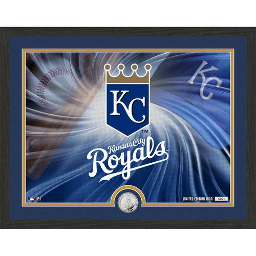 "Photo of Kansas City Royals Pride 16""x 20"" Silver Coin Photo Mint"