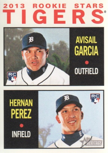 Photo of 2013 Topps Heritage #312 Avisail Garcia RC/Hernan Perez RC