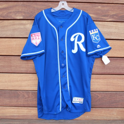 Photo of Team-Issued 2019 Spring Training Jersey: Joe Randa (Size 46)