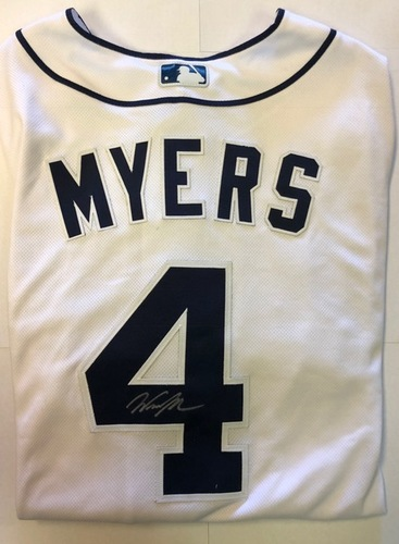 Photo of Wil Myers Autographed Authentic Padres Jersey