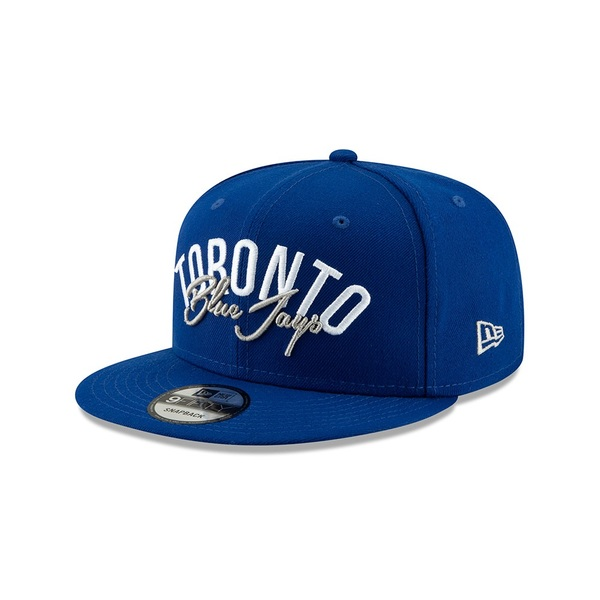 Toronto Blue Jays Script Essential Snapback Cap by New Era