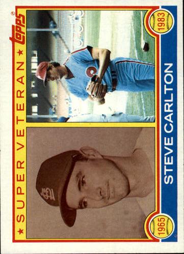 Photo of 1983 Topps #71 Steve Carlton SV