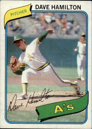 Photo of 1980 Topps #86 Dave Hamilton