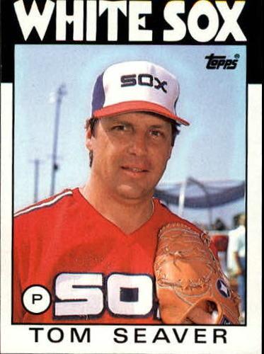 Photo of 1986 Topps #390 Tom Seaver