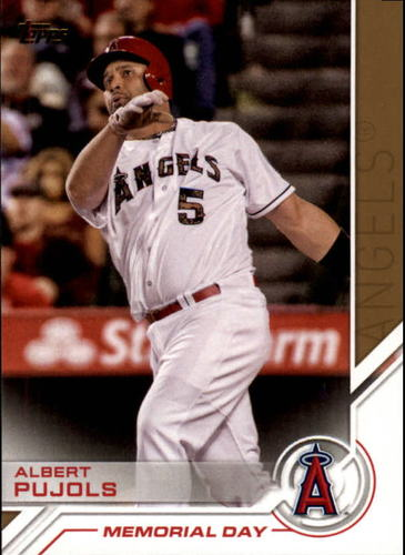 Photo of 2017 Topps Salute #S82 Albert Pujols
