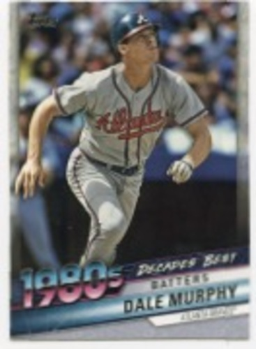 Photo of 2020 Topps Decades' Best #DB47 Dale Murphy
