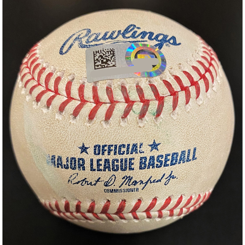 Photo of JaCoby Jones Detroit Tigers Home Run Baseball (MLB AUTHENTICATED)