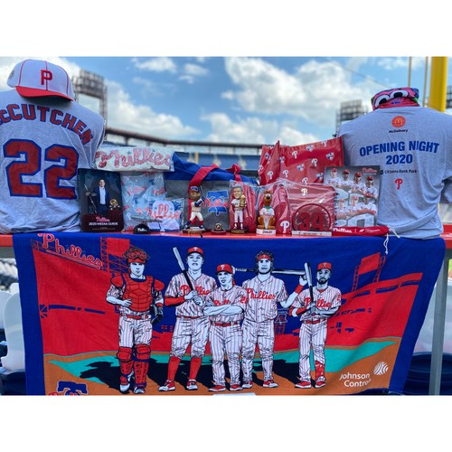 Set of Phillies 2020 Collectibles Including Bryce Harper Bobblehead and More!