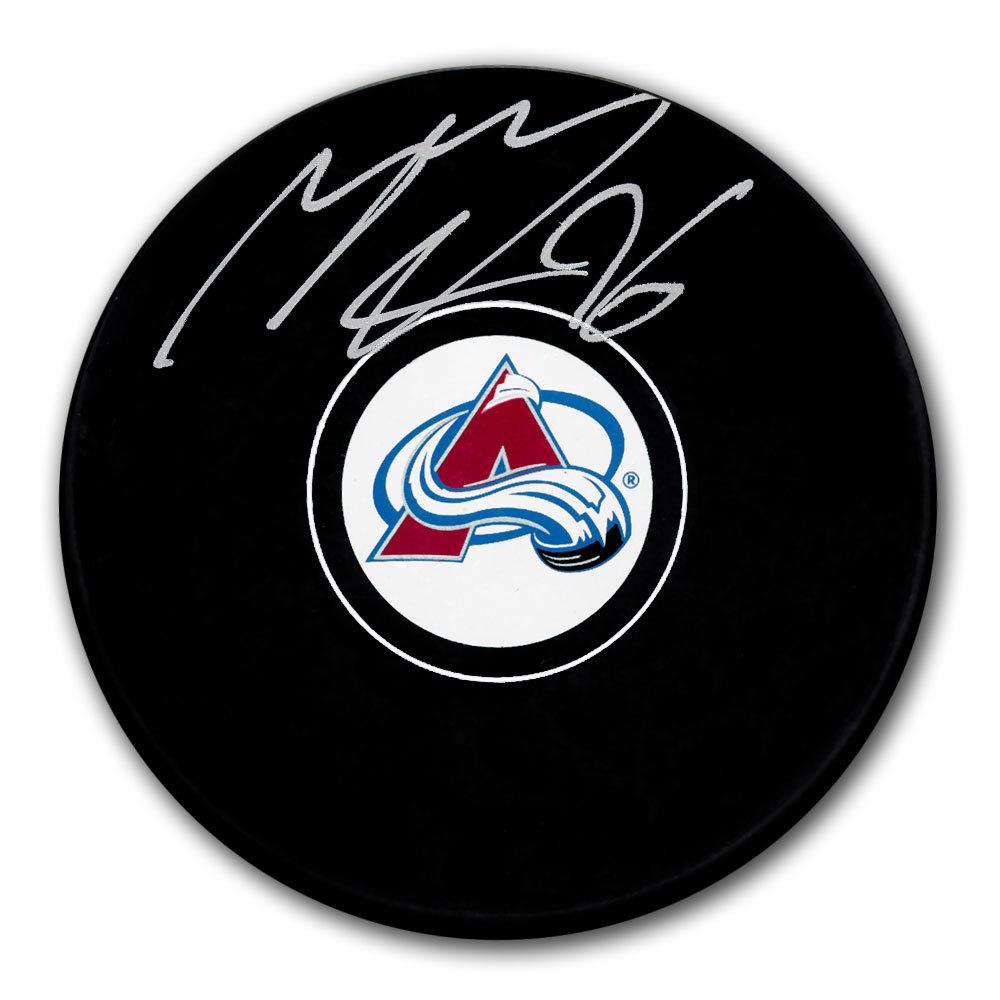 Mikko Rantanen Colorado Avalanche Autographed Puck