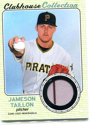 Photo of 2017 Topps Heritage Clubhouse Collection Relics #CCRJT Jameson Taillon
