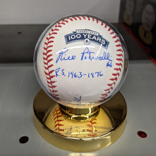 Photo of Fenway 100 Rico Petrocelli Autographed Baseball