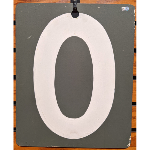 Photo of Fenway Park Green Monster Game Used Scoreboard #0