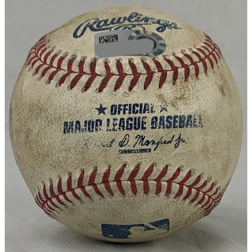 Photo of Justin Verlander 300th Strikeout from 3000th Career Strikeout Game. HOU at LAA - 9/28/19