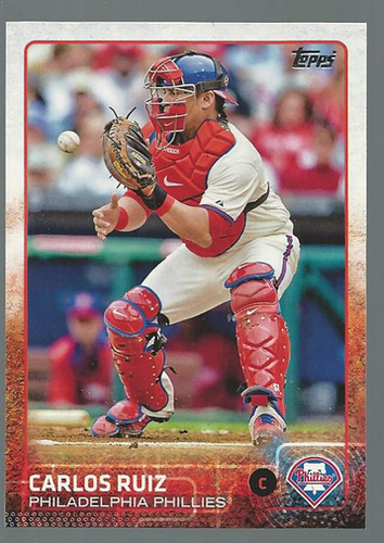 Photo of 2015 Topps #233 Carlos Ruiz