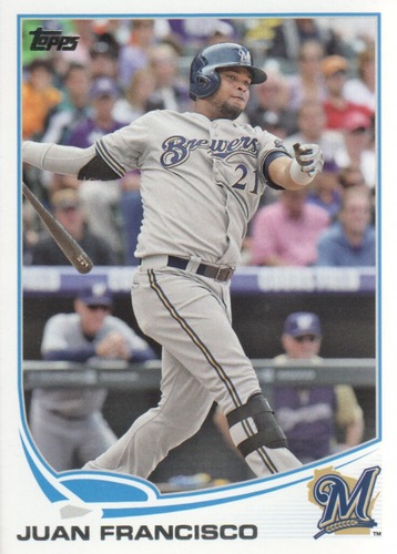 Photo of 2013 Topps Update #US301 Juan Francisco