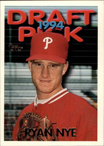 Photo of 1995 Topps #421 Ryan Nye RC