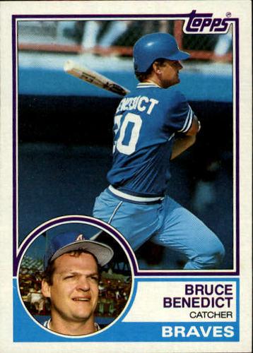 Photo of 1983 Topps #521 Bruce Benedict