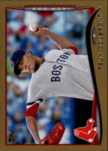 Photo of 2014 Topps Gold #491 Felix Doubront