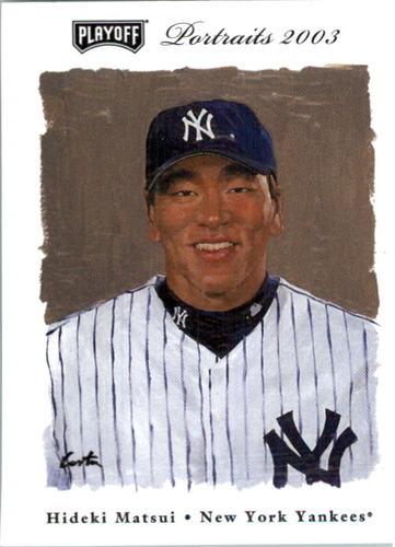 Photo of 2003 Playoff Portraits #88 Hideki Matsui RC