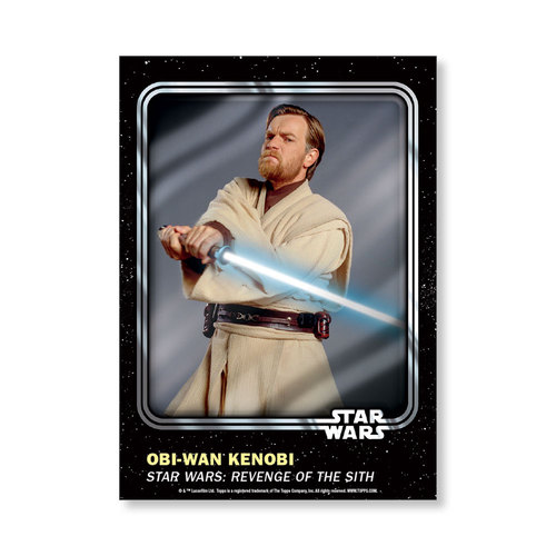 Obi-Wan Kenobi 2016 Star Wars Card Trader Base Poster - # to 99