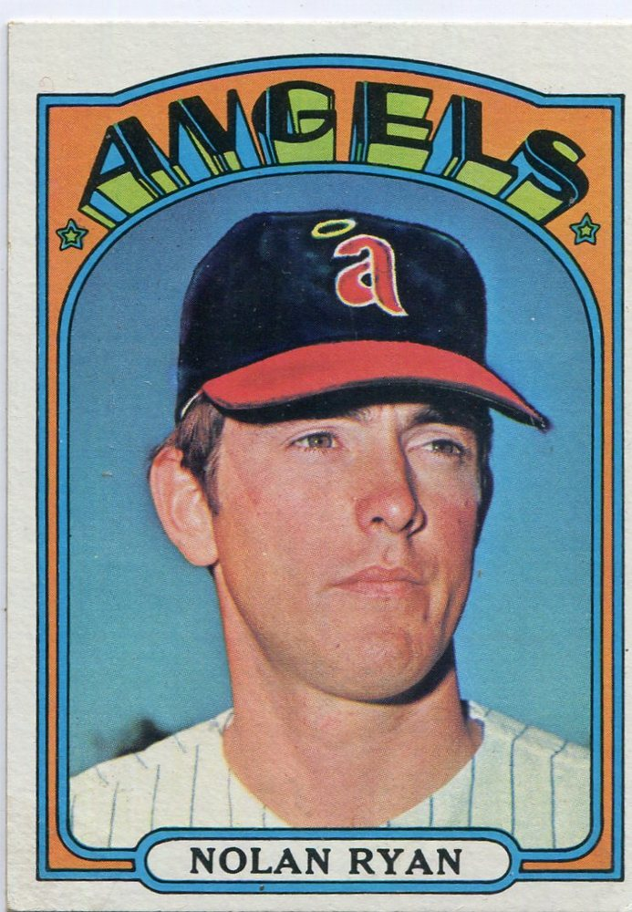 1972 Topps #595 Nolan Ryan-- Hall of Famer