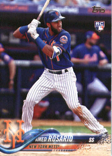 Photo of 2018 Topps #63 Amed Rosario RC