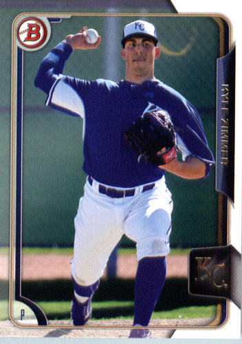 Photo of 2015 Bowman Draft #81 Kyle Zimmer
