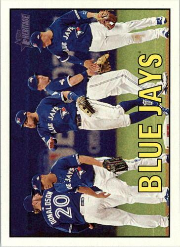 Photo of 2016 Topps Heritage #345 Toronto Blue Jays